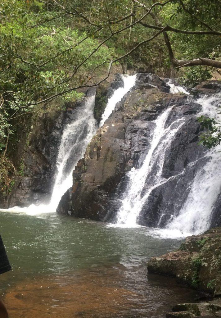 マウントハイピパミーの滝