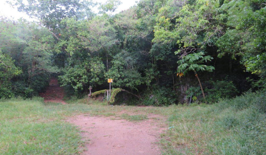 マーボー洞窟の入り口