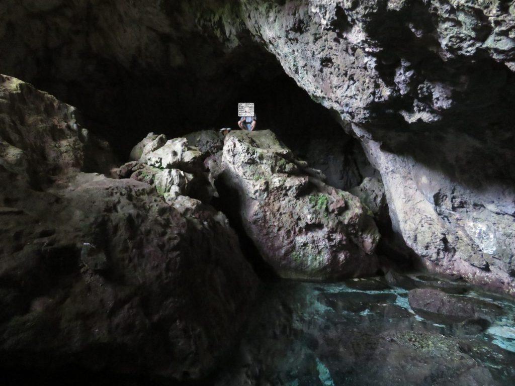マーボー洞窟内部