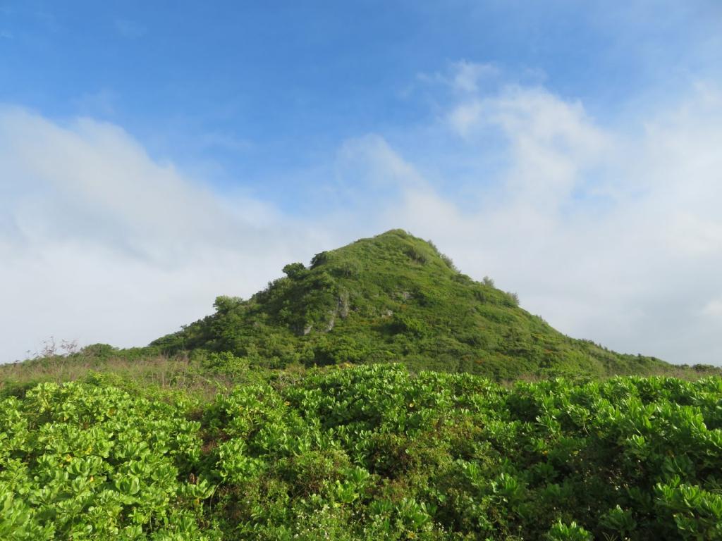 マーボークリフサイドからの景色(山)