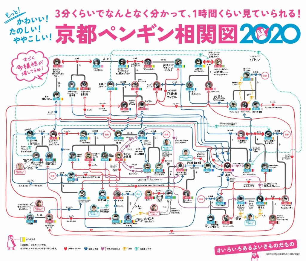 京都ペンギン相関図2020