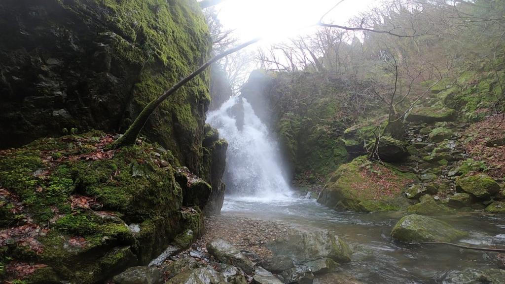 岡山の秘境「不動滝」が神秘的すぎた