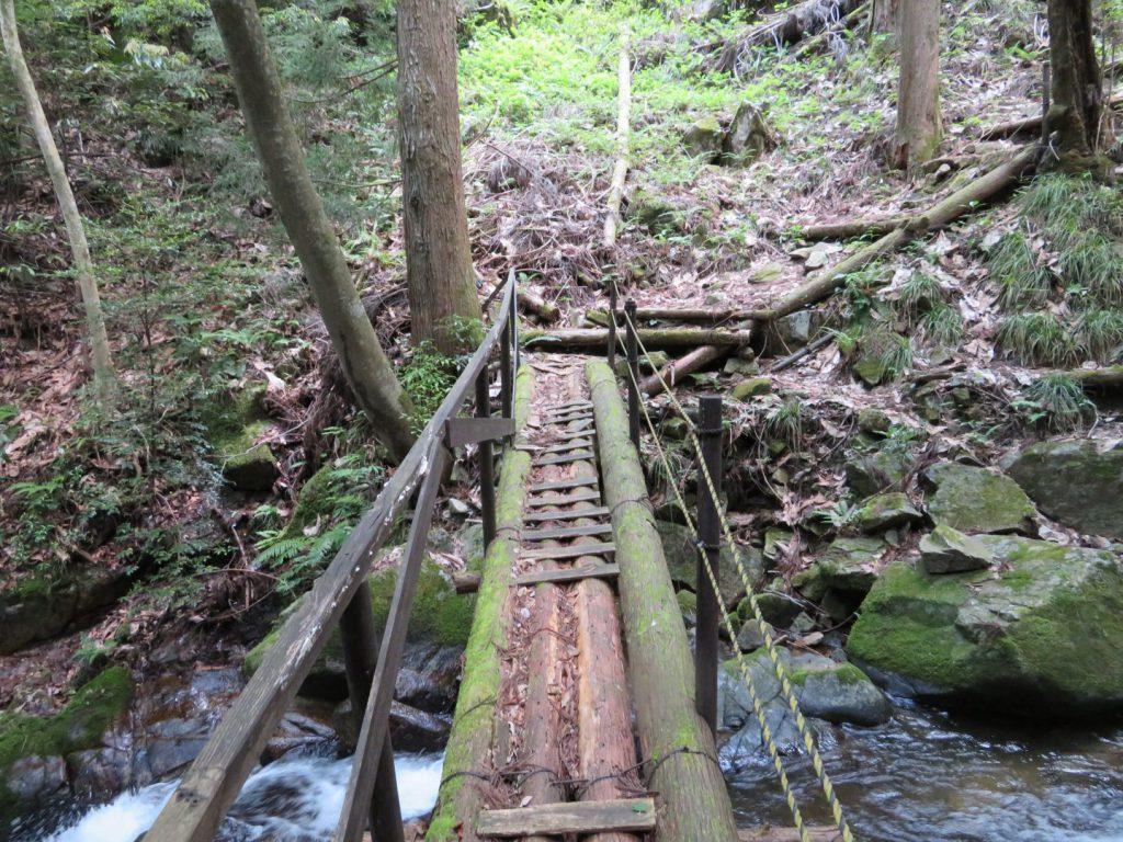 黒土の滝の橋