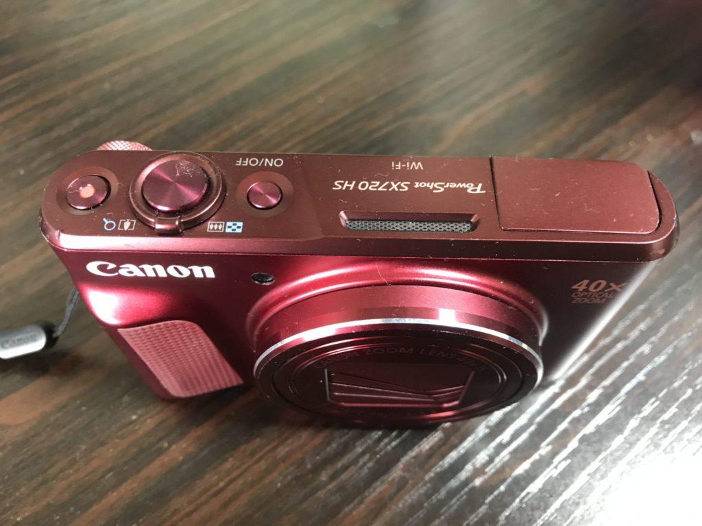 大自然の撮影におすすめのカメラ【PowerShot SX720HS】